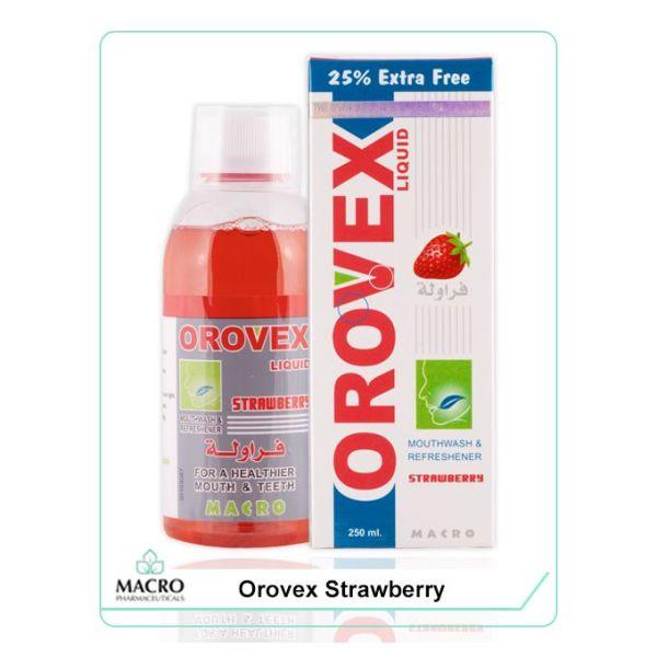 غسول الفم بالفراوله - 250 مل Orovex