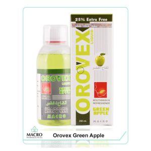 التفاح الأخضر غسول الفم - 250 مل Orovex