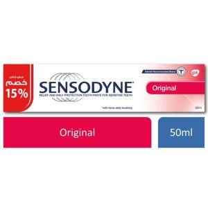 اورجينال معجون اسنان - للأسنان الحساسة - 50 مل Sensodyne
