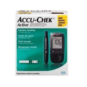 ACCU CHEK Active Blood Glucose Monitor - Black