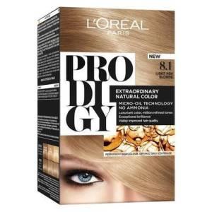 L'Oreal Paris Prodigy Ammonia Free Hair Color - 8.1 Diamond / Light Ash Blonde