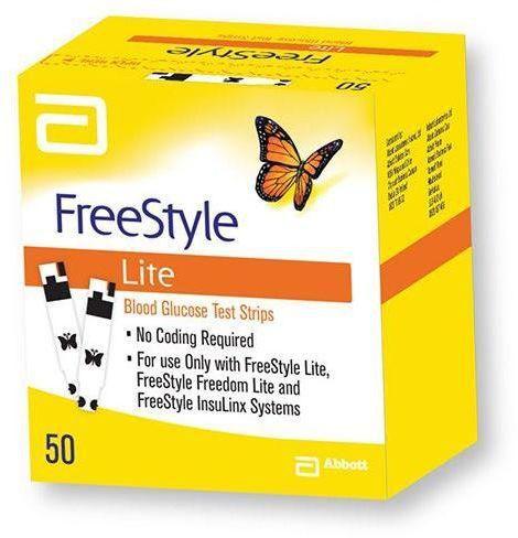 FreeStyle Lite شرائط قياس سكر