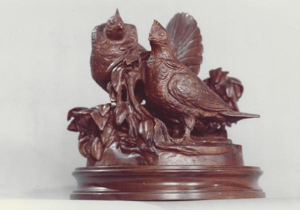 Ruffed Grouse Sculpture