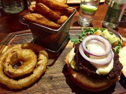 Normal burger, not Wagyu