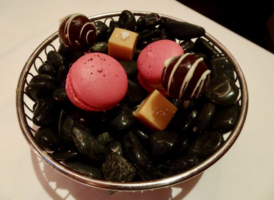 Macaroons, Fudge and Chocolate Lollipops