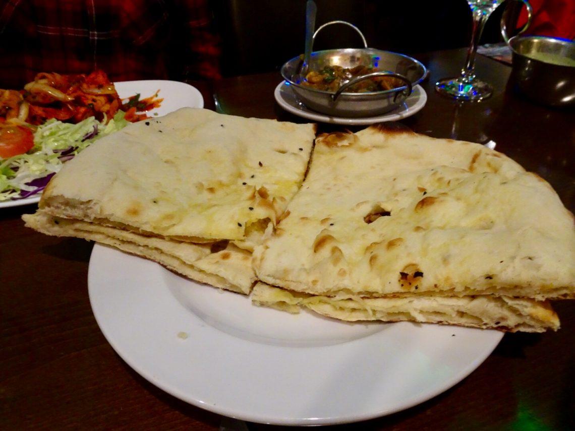 Large Peshwari Naan Bread
