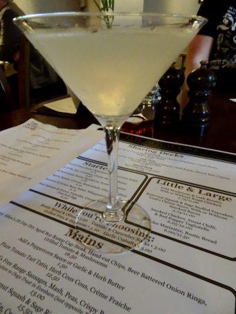 Cocktail of the Week: Pear & Elderflower Martini