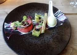 duo of cured salmon