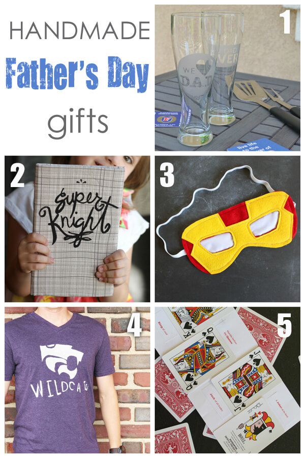 Five Awesome Handmade Father's Day Gift Ideas