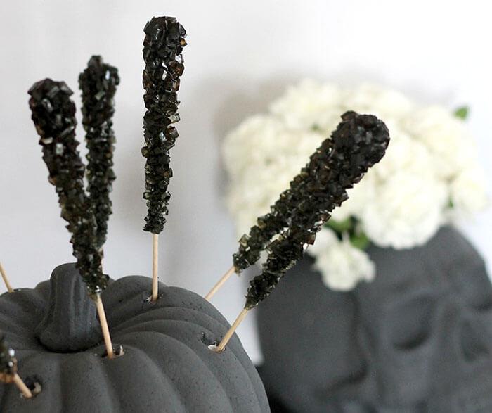 halloween foam candy display 4