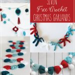 Crochet Retro Ornament Garland Persia Lou