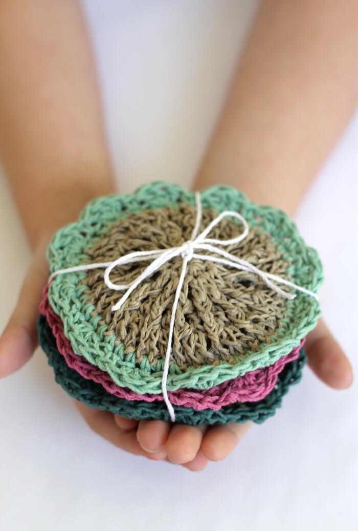 crochet hemp scrubbies3