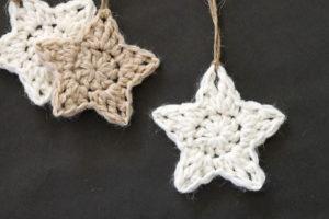 Crochet Stars – Free Ornament Pattern