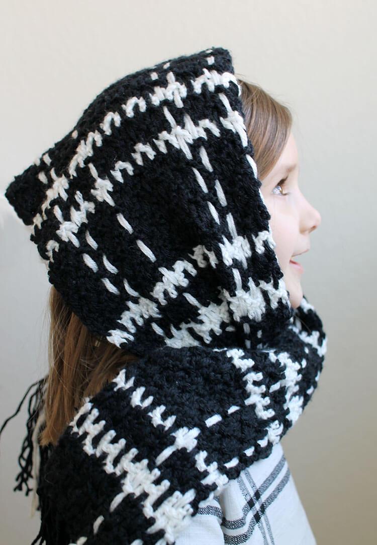 plaid scarf 2