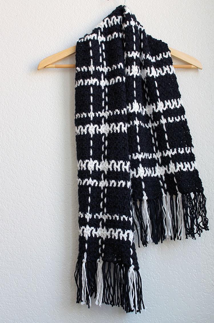 plaid scarf 7