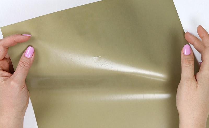 cut lines on heat transfer vinyl