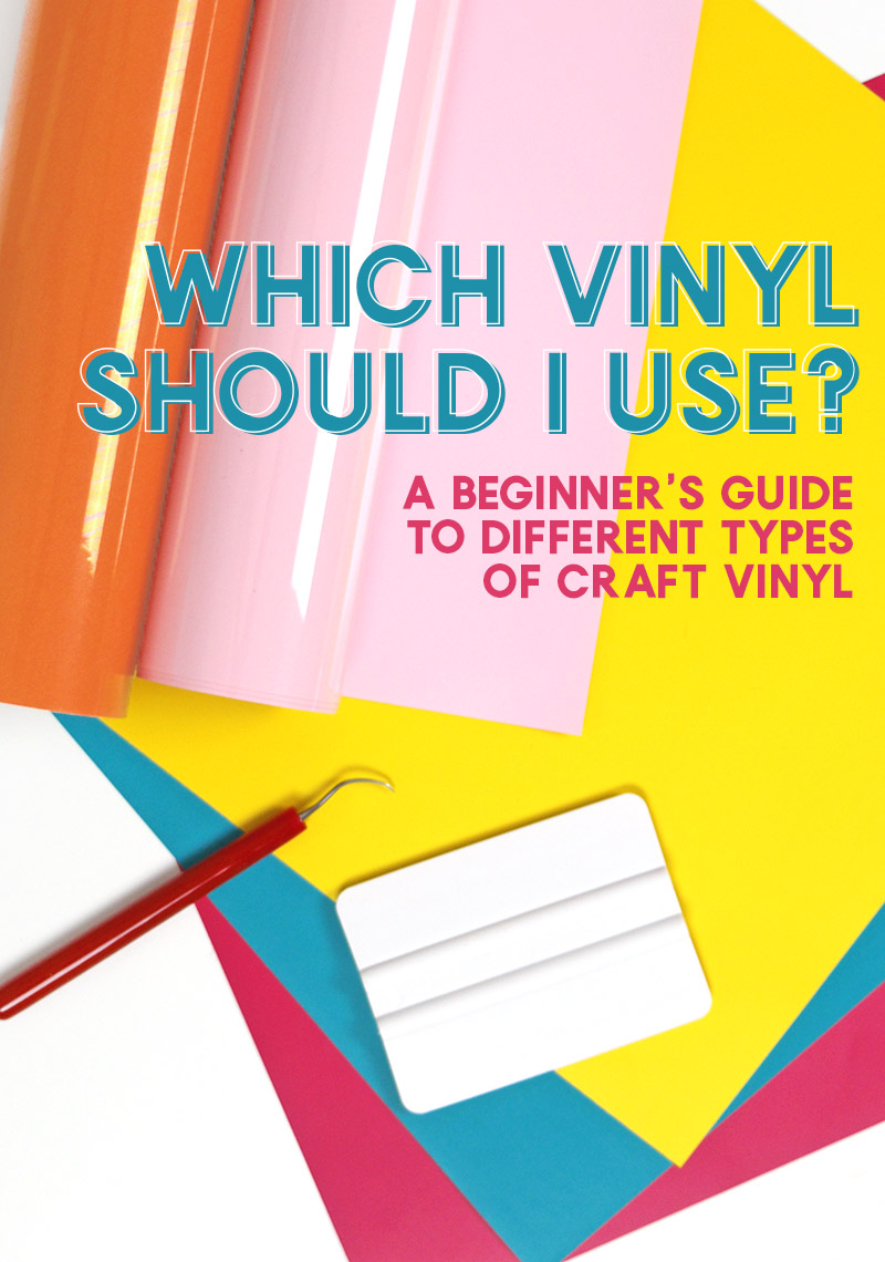 What Kind Of Vinyl For Car Decals : vinyl, decals, Which, Vinyl, Should, Beginner's, Guide, Different, Types, Craft, Persia