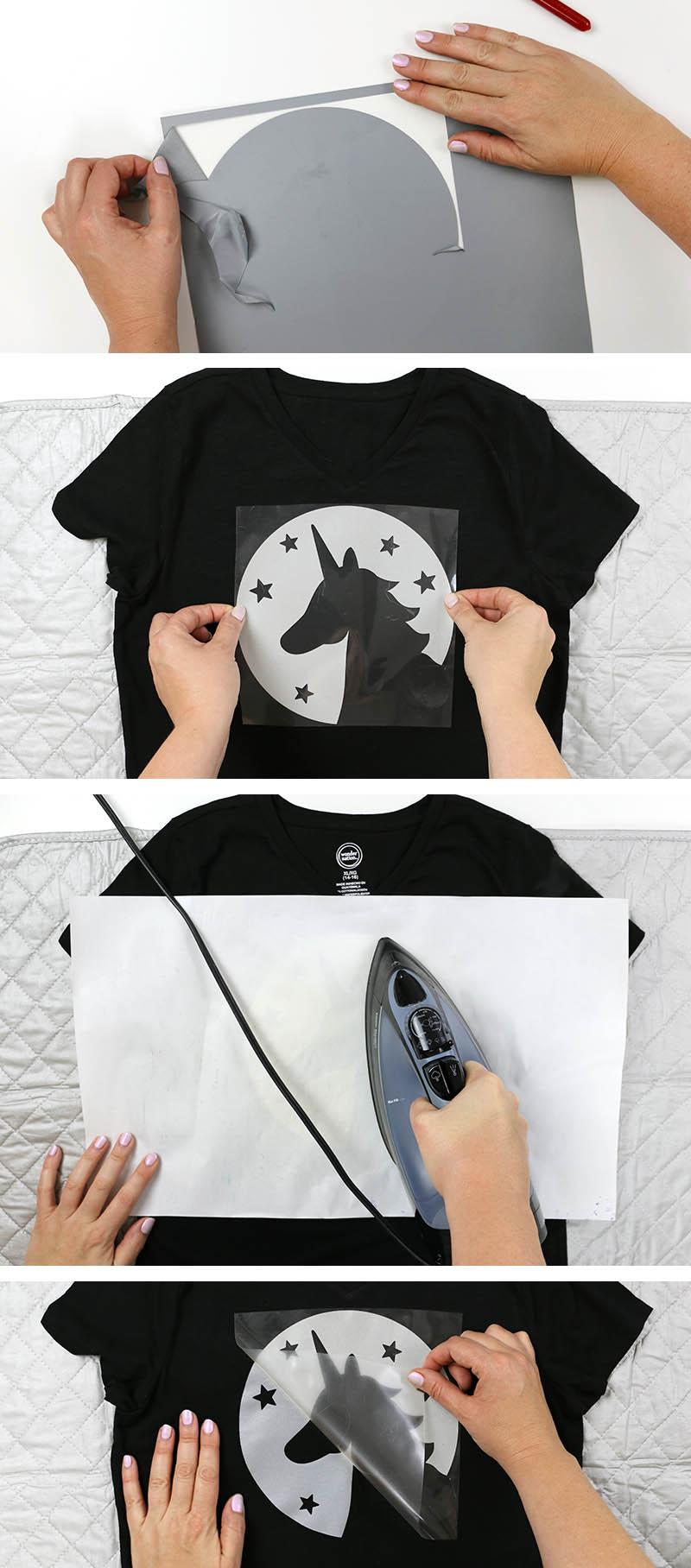 iron on reflective heat transfer vinyl