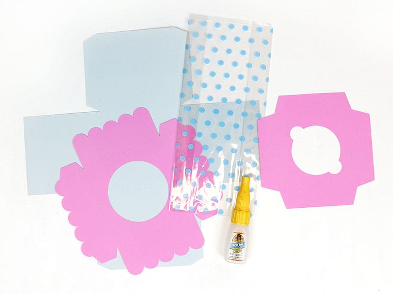 diy paper box pieces