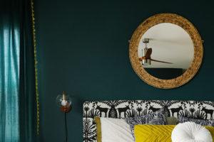 Dark Teal Bedroom Reveal
