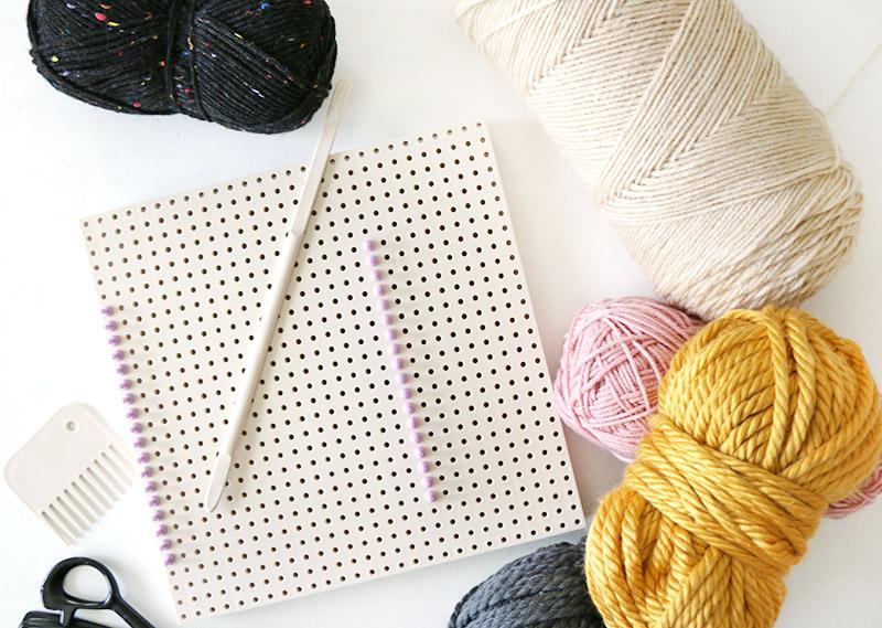 diy weaving supplies for woven bag
