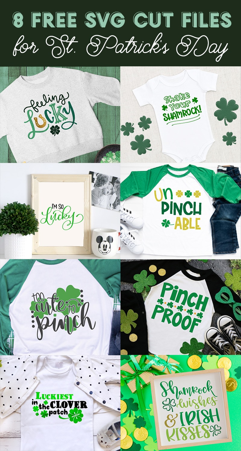 8 free st patricks day svg cut files for cricut and silhouette crafting