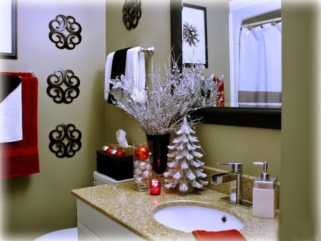 Cmo decorar el bao en Navidad  Blog
