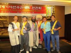 Persian Horseback Archery Association's Team