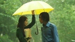 love rain umbrella