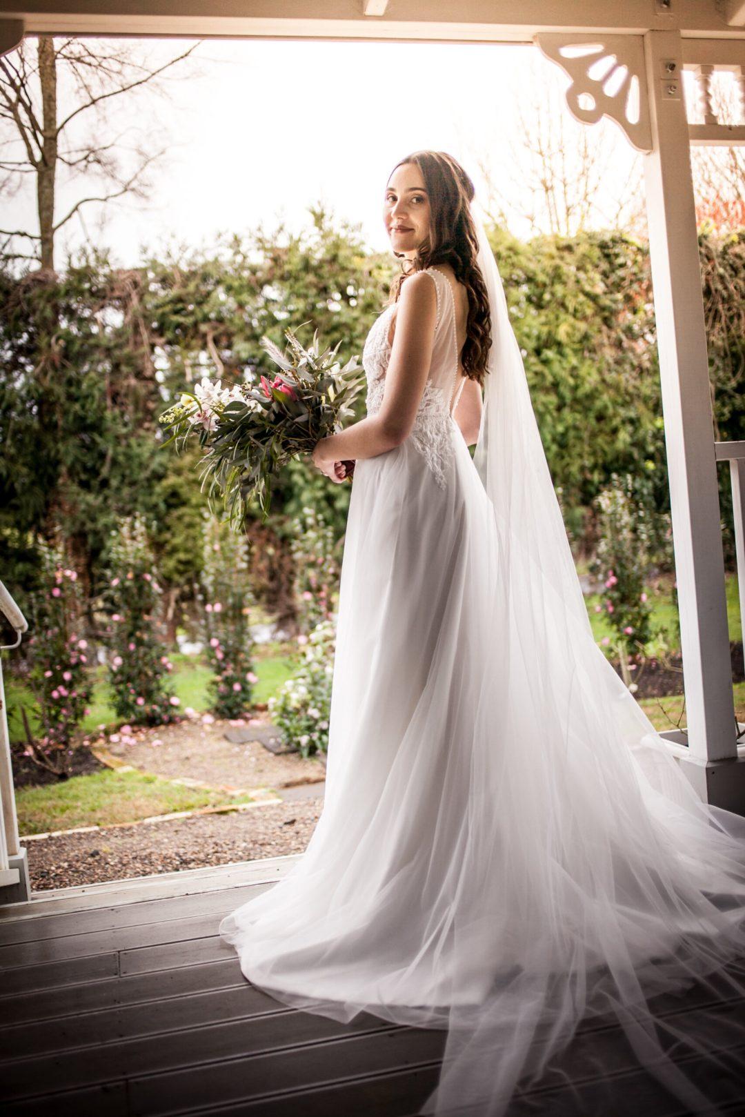 Beautiful Bride at Persimmon Lane