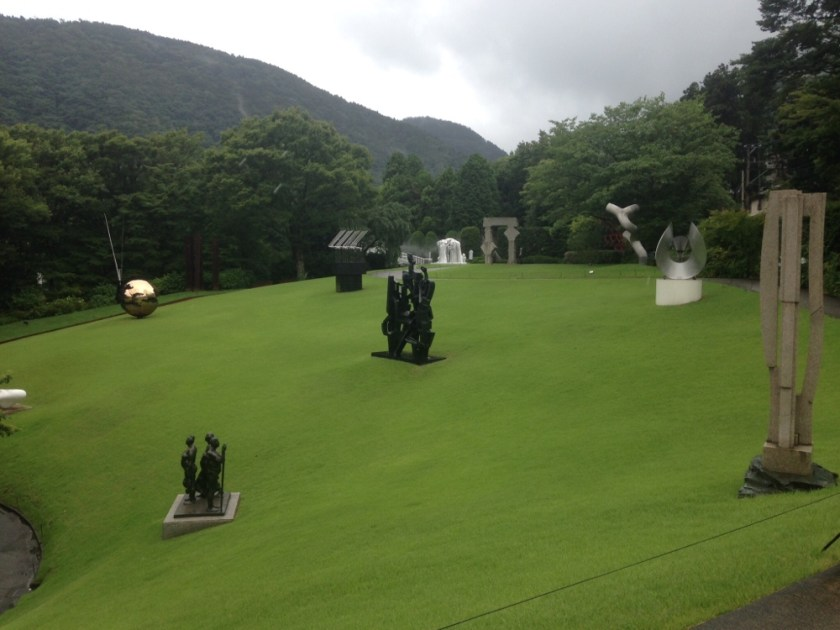 Art museum in Hakone