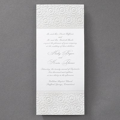 lace invitation elegant