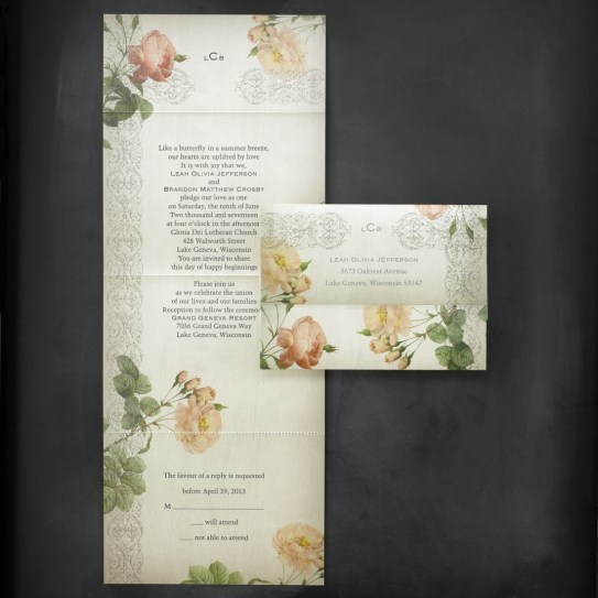 Vintage Roses- Affordable Style