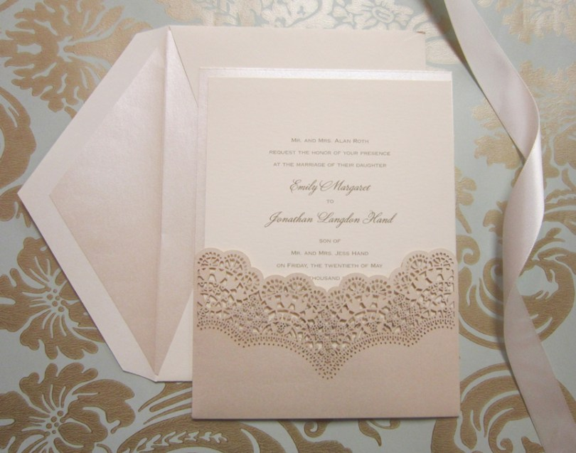 Laser Cut Love • Persnickety Invitation Studio
