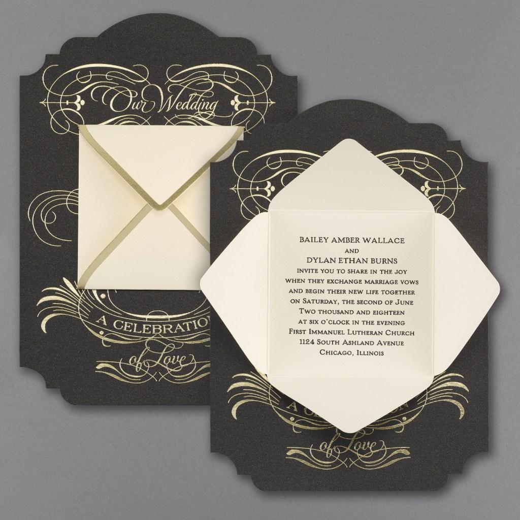 hidden message invitation