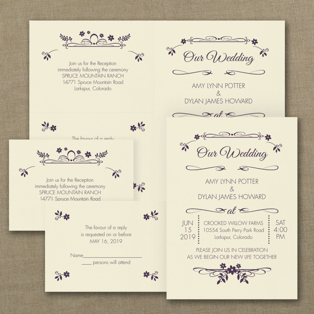 wedding flowers invitation budget friendly