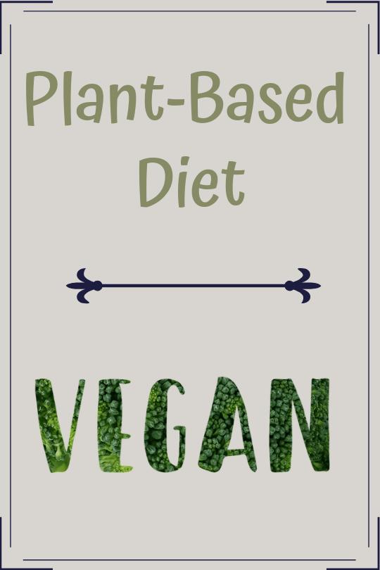 vegan plant-based diet