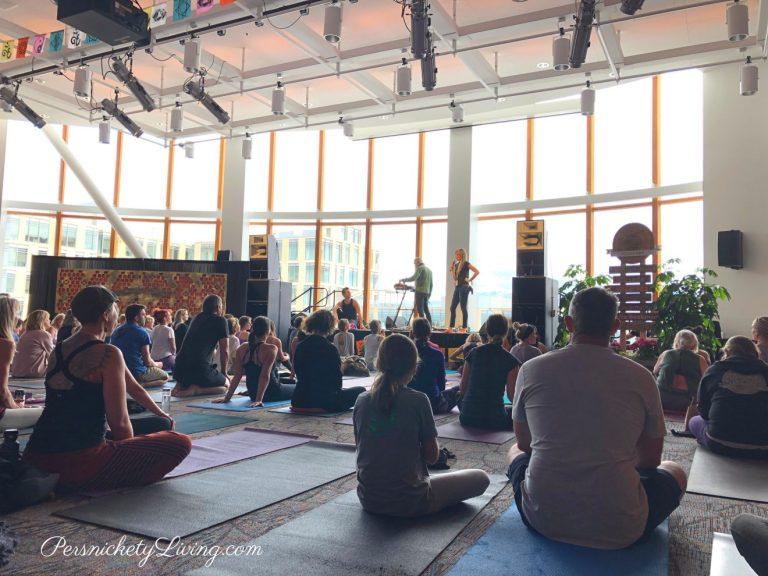 Live Music Set Up at Yogafort 2019 Yoga Festival