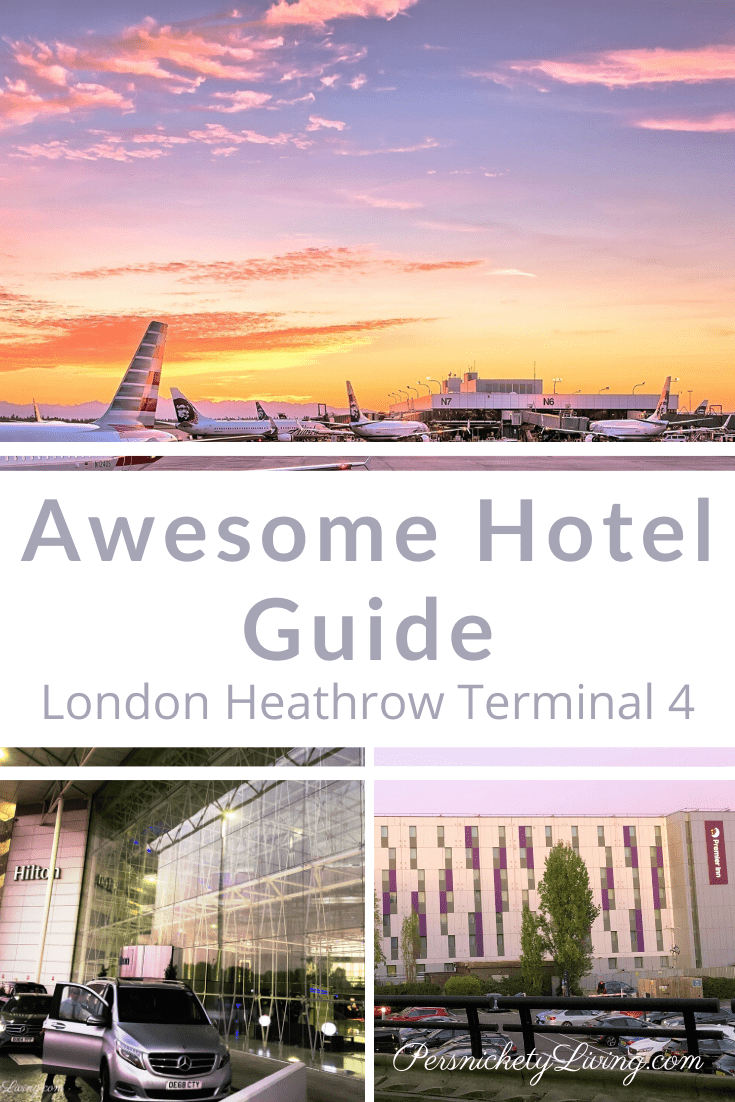 Awesome Guide to Heathrow Airport Hotels Terminal 4