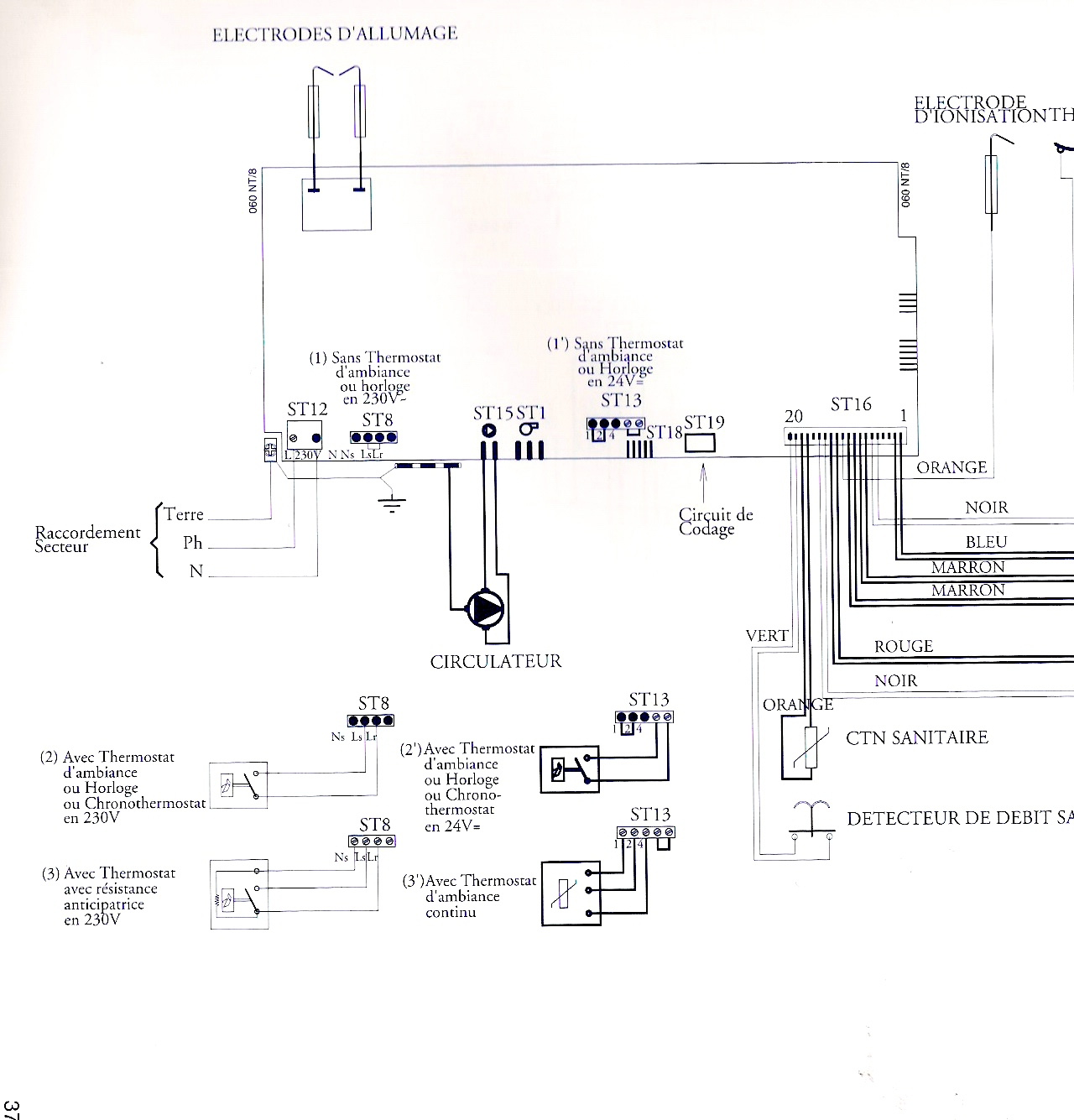 Regulation De Chauffage Central Avec Une Chaudiere Acleis Prototype