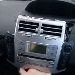 2006 Toyota Yaris Radio Wiring Diagram Ac Thermostat Diy Add Aux Input On W58824 Head Unit