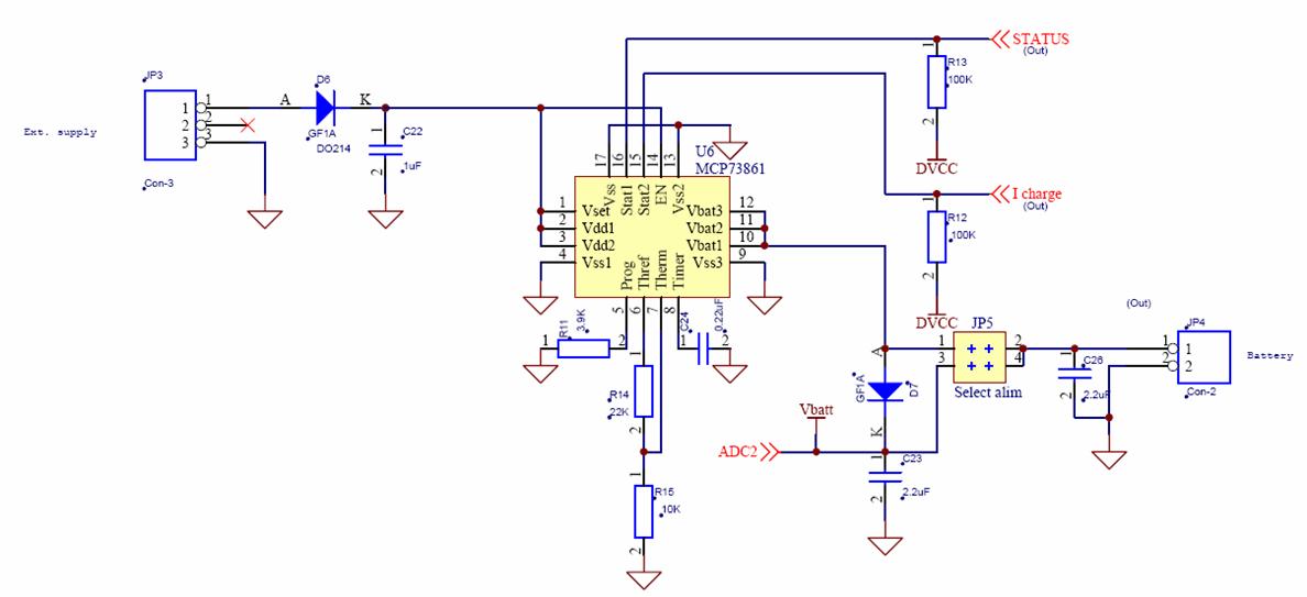 Chapter III WSN430 Schematic
