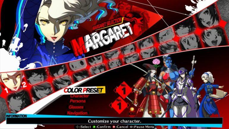 persona-4-ultimax-select-screen