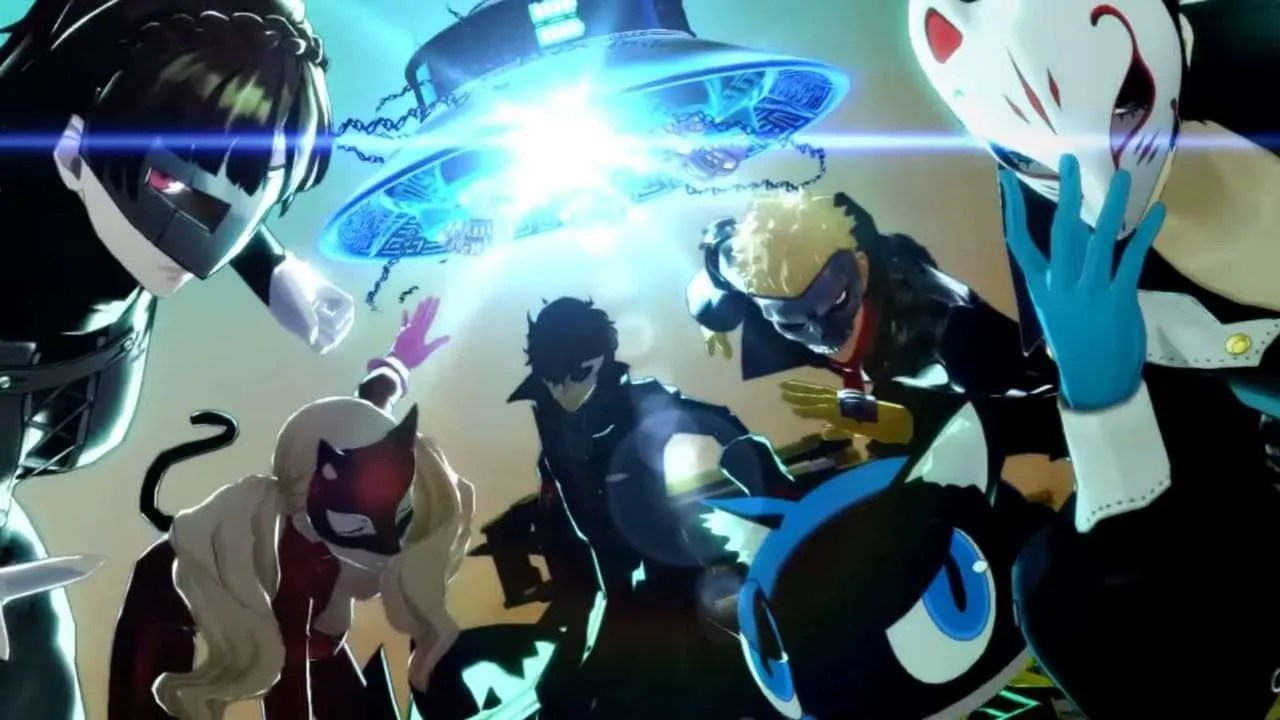 Persona 4 The Animation Wallpaper Persona 5 Sizzle Trailer Released Persona Central