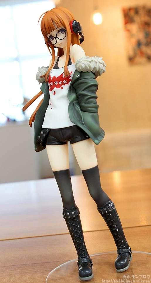 Persona 5 Futaba Sakura Phat Figure Details Pre Orders