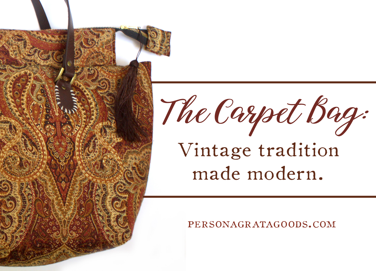 Carpet Bags from North Carolina Vintage