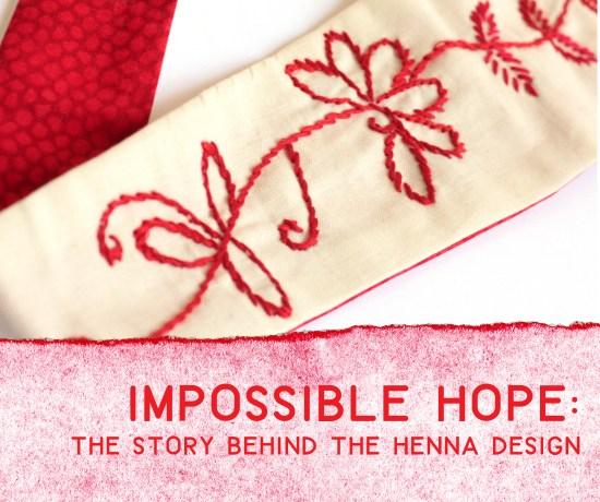 Henna Inspired Head Ties