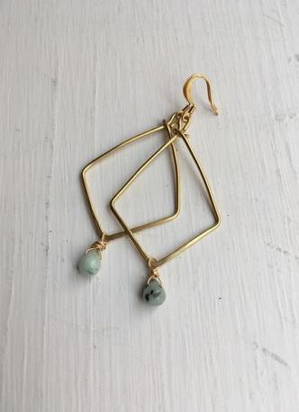 Fair Trade Refugee Made Earrings