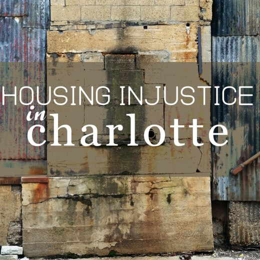 Affordable Housing Justice Charlotte NC