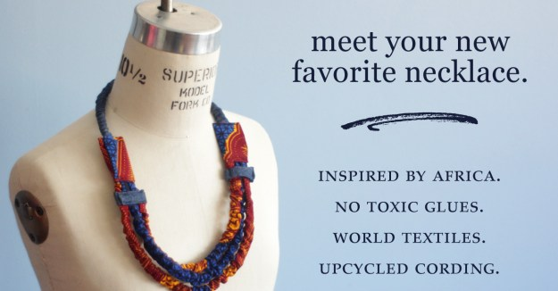 Fairtrade African cord jewelry